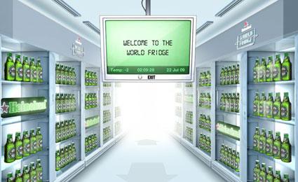 My hubby's dream fridge